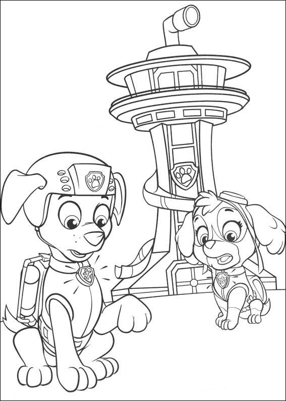 Dibujosfacileses Dibujos De La Patrulla Canina Para Los Peques