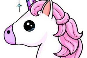 Unicornio kawaii dibujosfaciles.es
