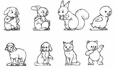 Dibujosfacileses Dibujos De Animales Fáciles De Dibujar Y