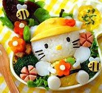 hello kitty kawaii comida