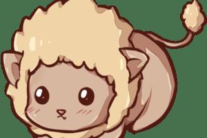 leon tierno kawaii