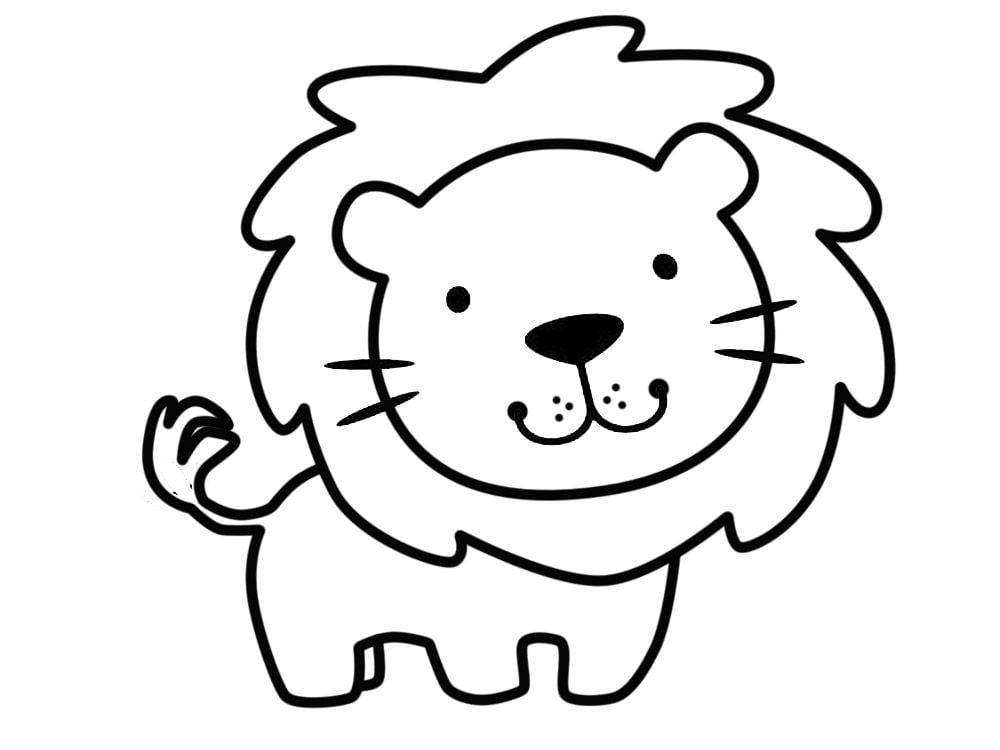 Dibujos Para Aprender A Colorear: Dibujos De Animales Fáciles De Dibujar
