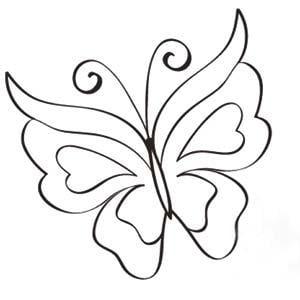 Mariposas www.dibujosfaciles.es