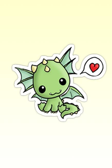 Dragoncito Kawaii