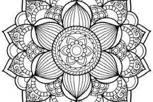 Mandala para dibujar