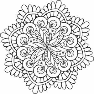 Flor de mandala
