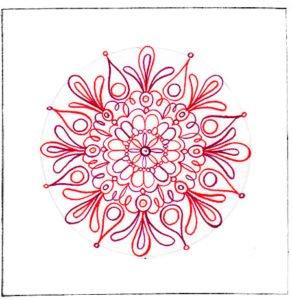 Mandala en color