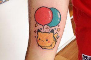 Pikachu gordo globos Kawaii