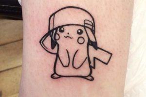 Pikachu Gorra Kawaii