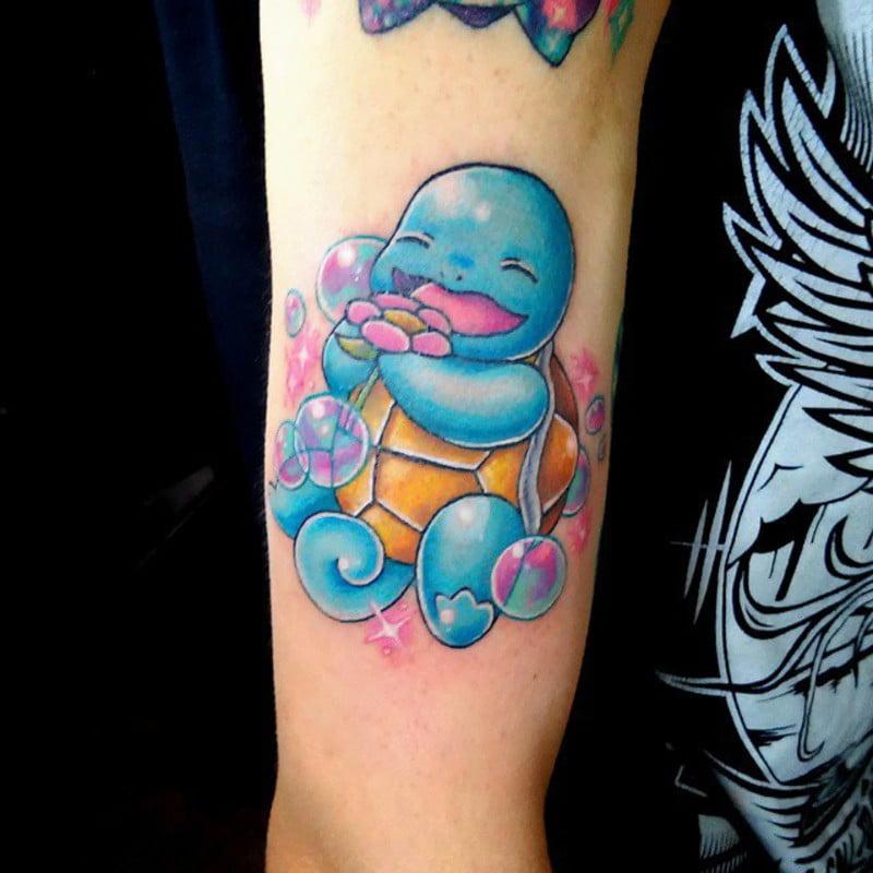 Tatuaje Kawaii Squirtle