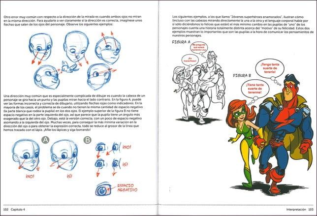 dibujar personajes de comic