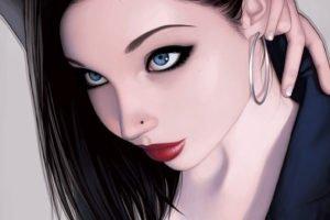 piercing chica by warren louw