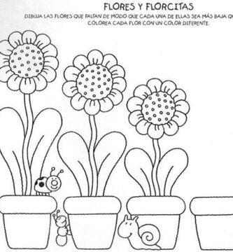 Como dibujar Flores