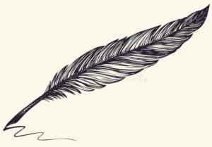 pluma de dibujo facil