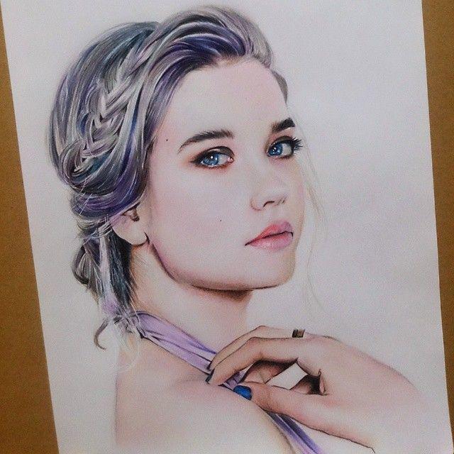 Eva Garrido dibujo