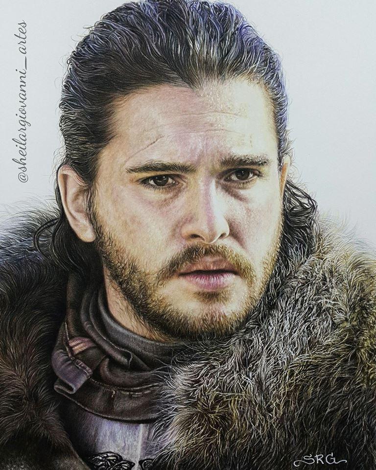 Jon Snow by Sheila R Giovanni