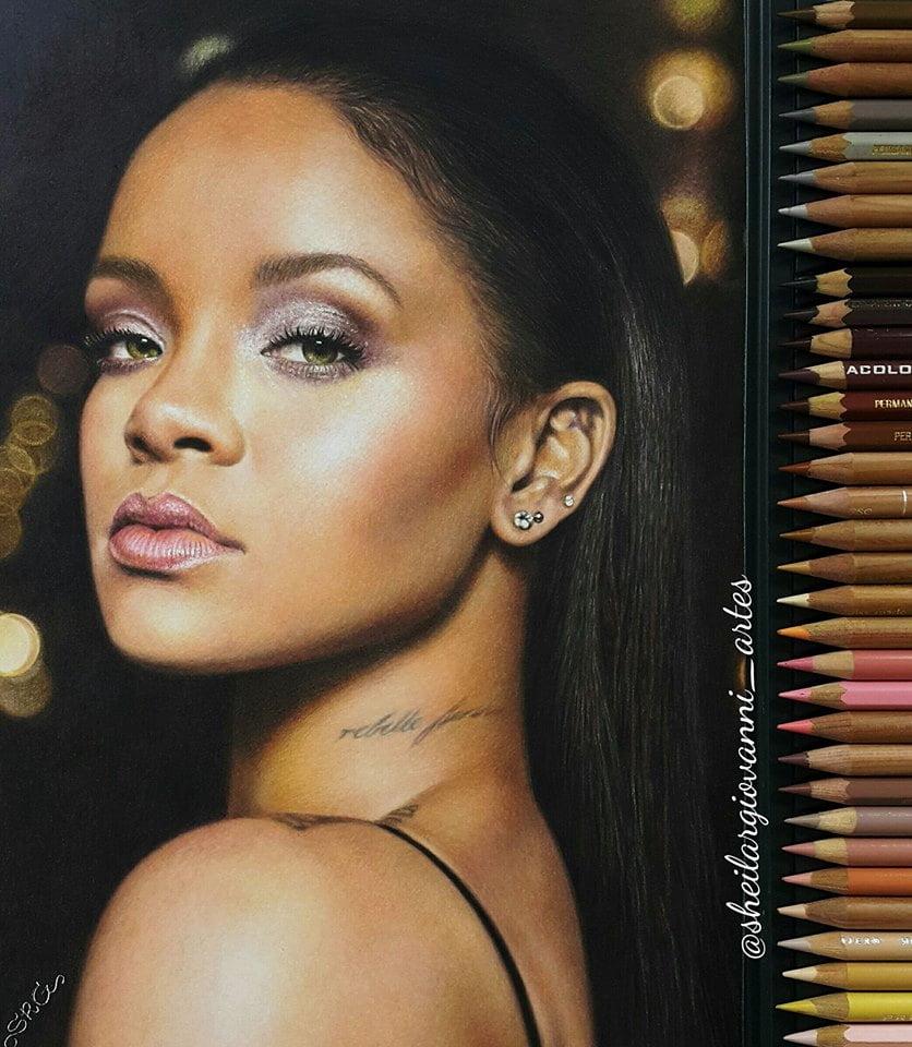 Rihanna by Sheila R Giovanni