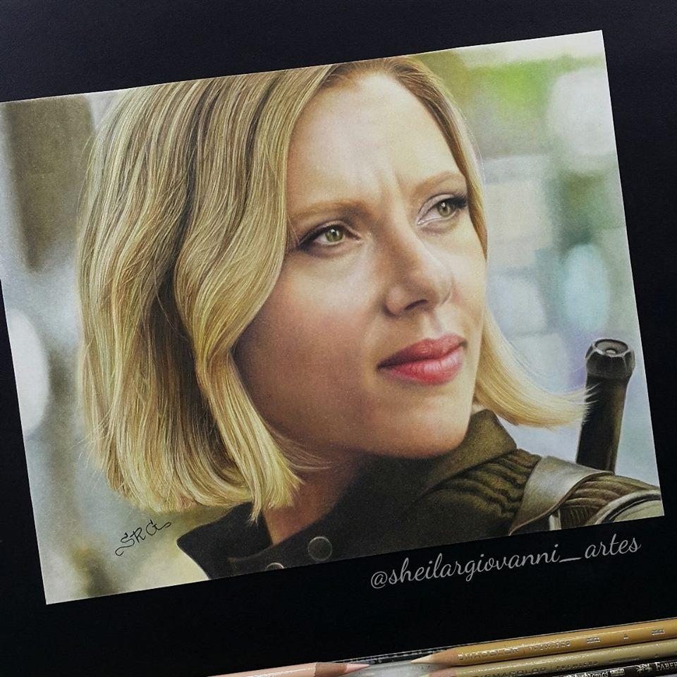 Scarlett Johansson by Sheila R Giovanni