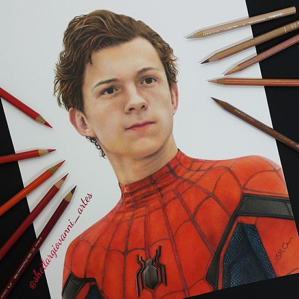Spiderman by Sheila R Giovanni