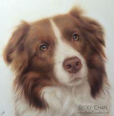 Dibujo de Becky Chan