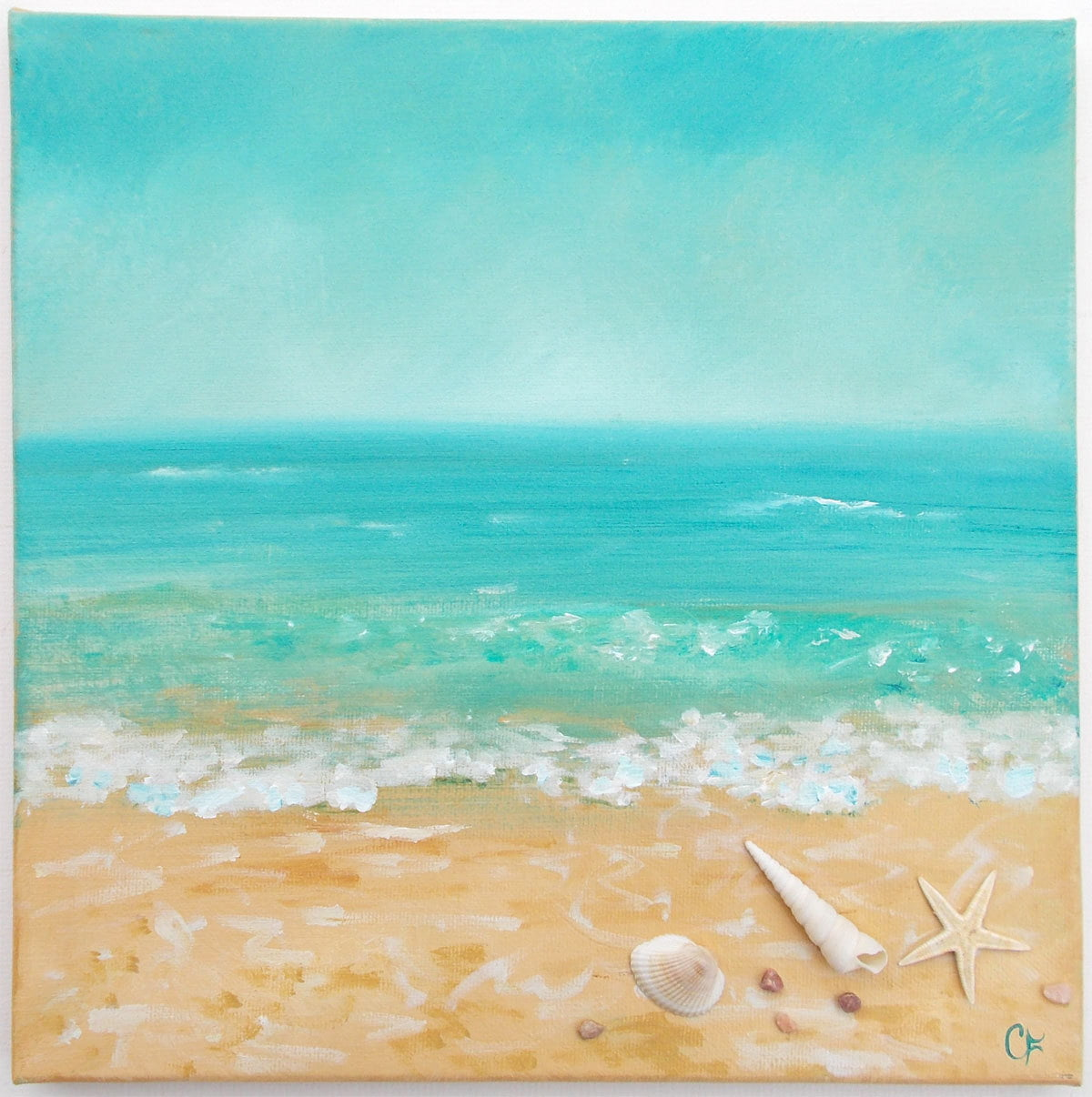 playa verano dibujo