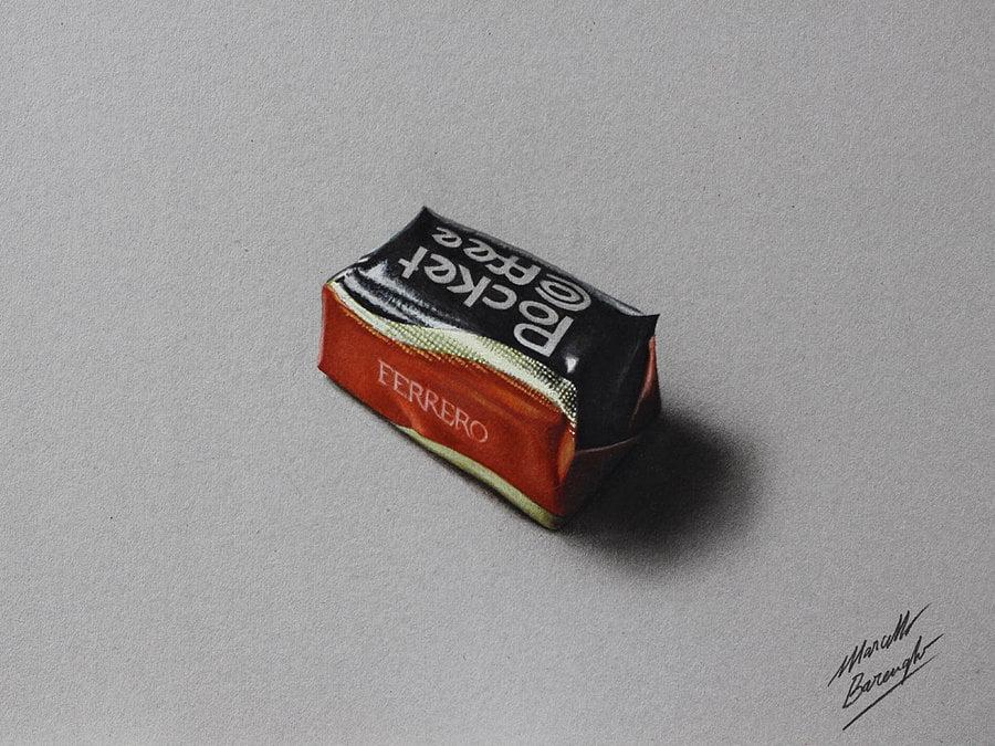 dibujos faciles Marcello Barengui