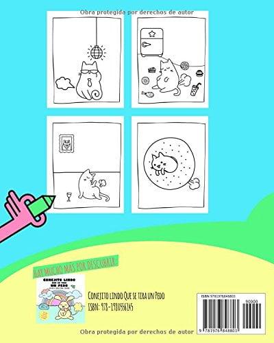 Dibujos fáciles el gato que se tira un pedo