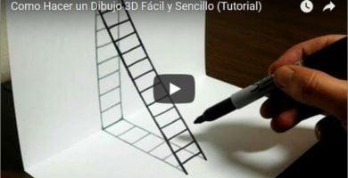 Dibujos fáciles en 3d