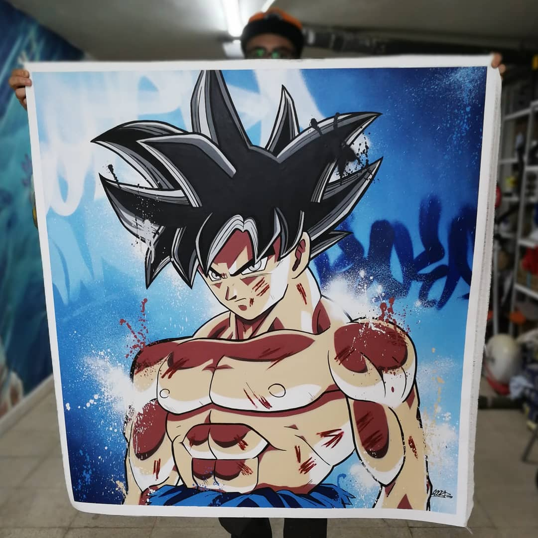 Son Goku Graffiti