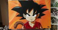 Goku Graffiti