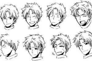 expresiones manga anime